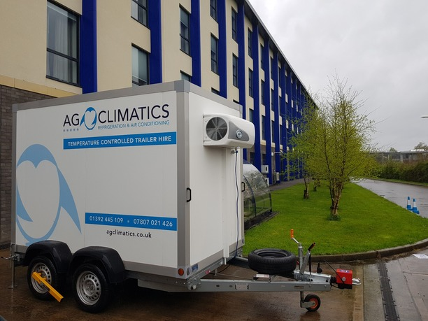 Refrigerated Trailer for events Exeter